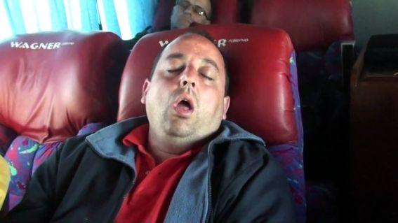 dormido bus